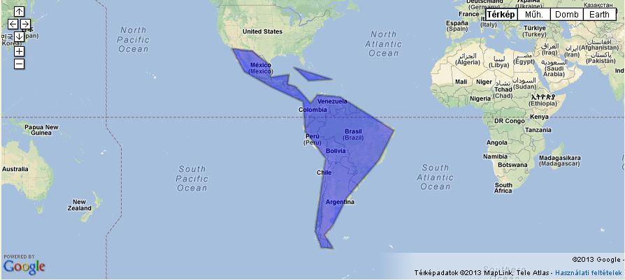 Kategoria Latin Amerika Nepzenetar